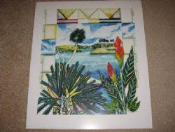 Art: Tropical Series #04 Lithograph