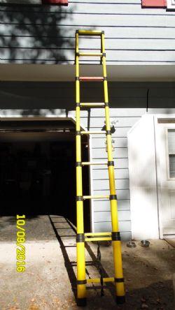 Prototype Telescoping 12 Foot Fiberglass Ladder
